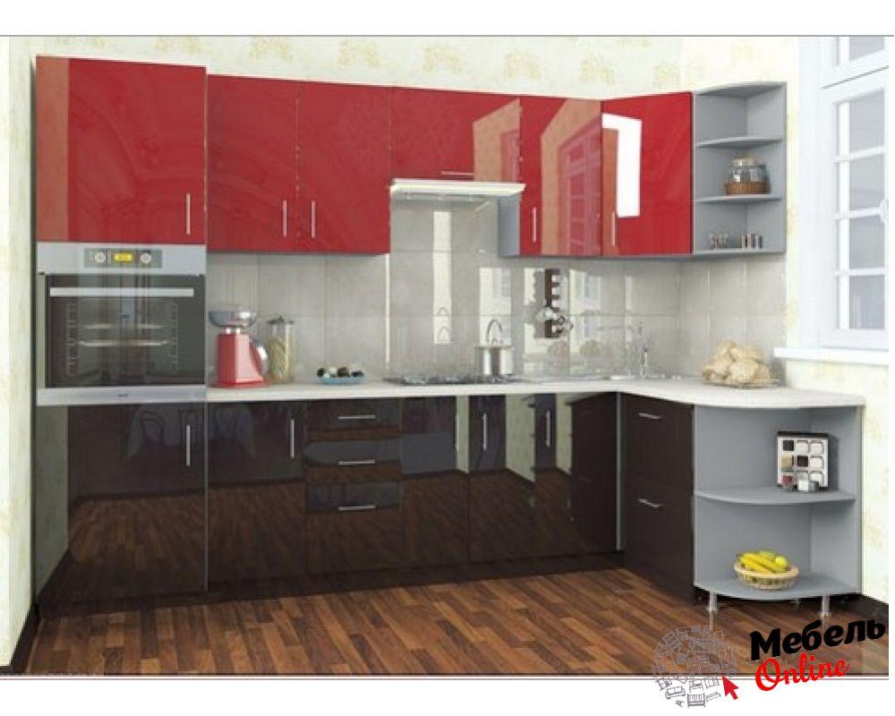 кухня хай глосс фото востребована популярна